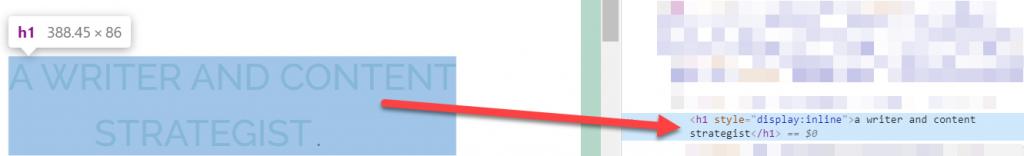 CSS text transform